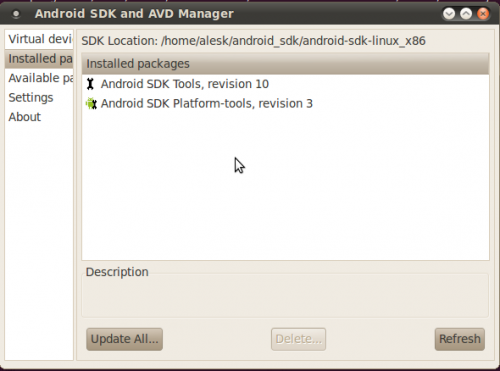 Android SDK on Ubuntu 10 04 | dbaportal eu
