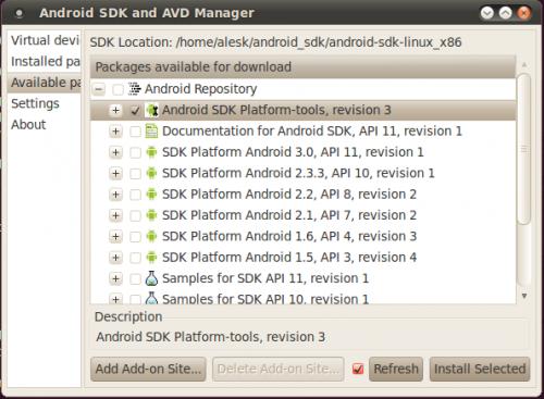 AndroidSDKPlatformTools
