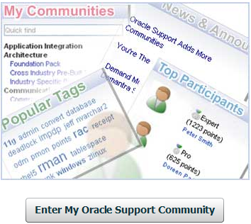 MyOracleSupportCommunity