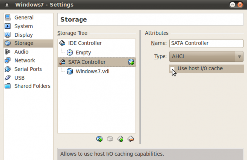 vbox-host-cache