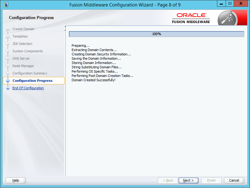 Installing Standalone Oracle Http Server 12c (12 1 0 3) on