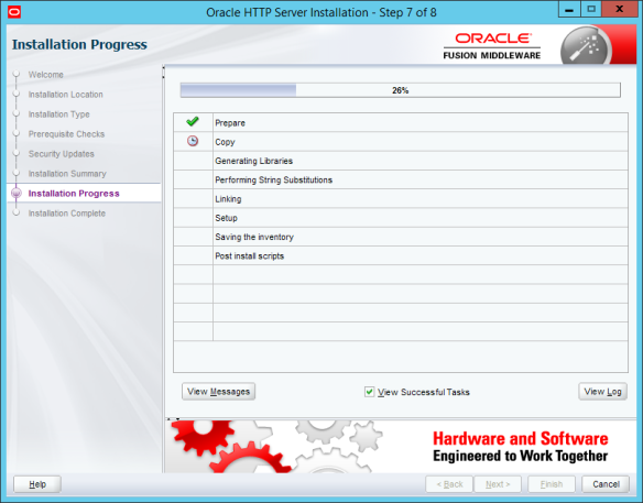 Installing Standalone Oracle Http Server 12c (12 1 0 3) on Windows