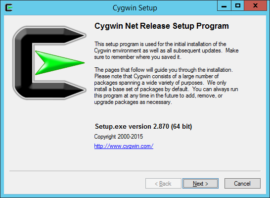 Installing OpenSSH (Cygwin 1 7 35) on Windows 2012 R2
