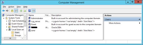 Installing OpenSSH (Cygwin 1 7 35) on Windows 2012 R2 | dbaportal eu