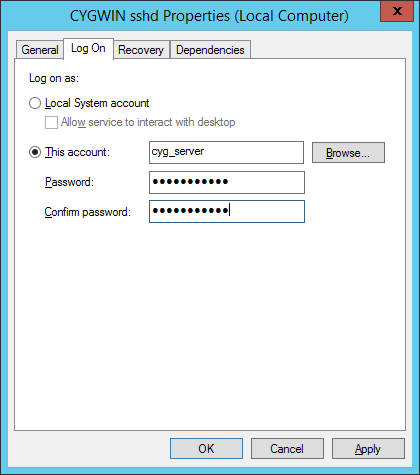 Setup OpenSSH (Cygwin) for public key authentication | dbaportal eu